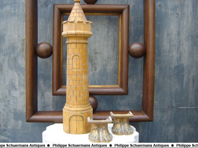 decorative tower made of boxwood for sell