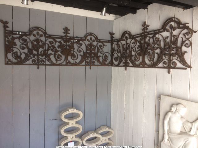 18th century wrought iron fences for sell