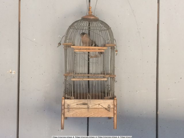 a small 19th century birdcage for sell